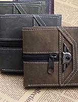 Fashion Men's Wallet Bifold Punk Wallets