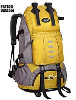 Backpack Camping & Hiking Waterproof / Rain-Proof / Multifunctional 50 L Terylene / 600D Ripstop