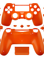 Case Part Skin Cover for PS4 Controller (Orange/Purple/Pink/Transparent)