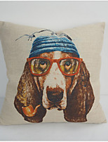 Hot Sale 45X45CM Decorative Pillow Case Covers Lovely Cartoon Dog Linen PillowCase Kids Gift High Quality
