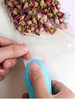 Vacuum Food Sealer Mini Portable Heat Sealing Machine Impulse Bag Sealer Random Color