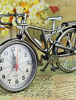 Fashion Bike Shape Alarm Clock For Children Kids Bicycle Alarm Clock Home Art Decoration