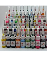 BaseKey Tattoo or  Makeup Ink Colors 40 x 5ml