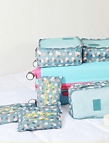 Packing OrganizerForTravel Storage Fabric Blue / Red / Pink / Yellow 27*20*19cm