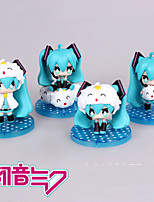 Vocaloid Hatsune Miku PVC One Size Anime Action Figures model Toys Doll Toy