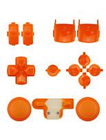 regolatore di sostituzione kit di montaggio caso impostato per ps3 arancione / viola / rosa