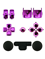 Replacement Controller Case Assembly Kit Set for PS3 Controller Red/Green/Blue/Purple
