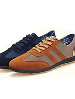 Men's Shoes Outdoor / Casual Suede Fashion Sneakers Blue / Khaki