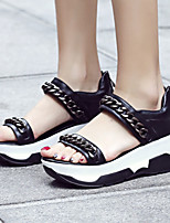 Women's Shoes  Platform Platform / Creepers Sandals Outdoor / Dress / Casual Black / White