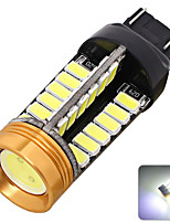2pcs 50w 12v T20 CAN-Bus 3528 48SMD portato l'automobile ha condotto freno lampada di coda
