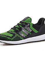 Men's Shoes Outdoor / Athletic / Casual Fabric Fashion Sneakers / Athletic Shoes Black / Green / Orange