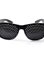 1XBlack Improver Eyesight Anti-fatigue Pinhole Glasses Stenopeic Vision Care Hot
