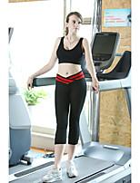 Pantalones de yoga Prendas de abajo Transpirable / Compresión Cintura Baja Alta elasticidad Ropa deportiva Others Mujer OtrosYoga /