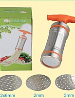 Kitchen Noodle Maker Machine Stainless Steel Pasta Fruit Juicer Press Spaghetti WITH 3 Different Mold
