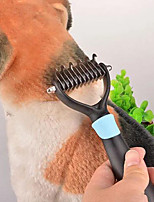 Portable Stainless Steel Beauty Clean Unhairing Pet Comb
