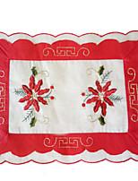 1 Polyester Rectangulaire Nappes de tableHôtel Dining Table / Décorations de Noël Favor / Tableau Dceoration / Dîner Décor Favor / Déco