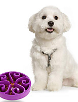 High Quality Slow Down Mixed Material  Bowl for Dogs (Assort Color)