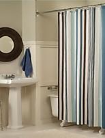 Modern Stripe Shower Curtains W71