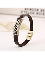 2016 alloy antique copper leather bracelet men bracelet bracelet retro bracelet(bracelet)