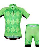 WOSAWE Summer Cycling jerseys+ shorts set 3D gel pad best quilty maillot ciclismo Cycling Clothing