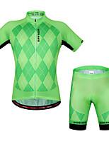 Hauts/Tops / Ensemble de Vêtements/Tenus(Vert claire) deCamping & Randonnée / Fitness / Sport de détente / Cyclisme/Vélo-Respirable /