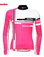 Top / Jersey-Ciclismo-Per donna-Maniche lunghe-Traspirante / Resistenteai raggi UV / Asciugatura rapida Primavera / Autunno / Inverno