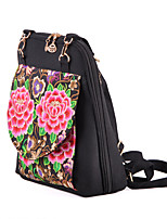 Women Canvas Weekend Bag Backpack / School Bag / Travel Bag-Multi-color