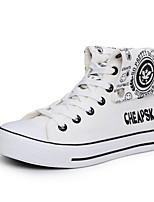 Men's Shoes Casual Canvas Fashion Sneakers Black / Blue / White