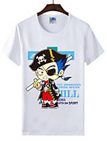 Cotton Lycra T-shirt Summer Men's T-shirt One Piece T-shirt 1Pc