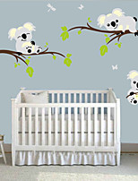 Animals Wall Stickers Plane Wall Stickers,PVC 60X5X5