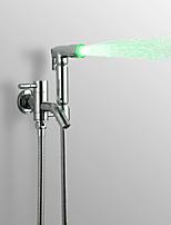 PHASAT Water-saving High Pressure LED  Bidet Sprayer Handheld Bidet for toilet, Chrome