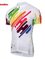 Jersey-Ciclismo-Per uomo-Maniche corte-Traspirante / Asciugatura rapida Estate / Autunno Elastico S / M / L / XL / XXL / XXXL
