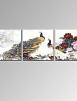 Famous / Landscape / Patriotismi / Moderni / Romantiikka Canvas Tulosta 3 paneeli Valmis Hang,Horizontal