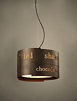 40W Vintage LED Peintures Métal Lampe suspendueSalle de séjour / Chambre à coucher / Salle à manger / Cuisine / Bureau/Bureau de maison /