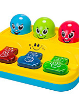 Whac-A-Mole Music Toy For Kids Plastic Red / Blue / Yellow