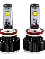 2pc 30w 2012-2013year 730i 740i 750i 760i automobile ha condotto le lampadine dei fari auto H8 anabbaglianti ha condotto la lampadina del