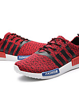 Men's Shoes Casual Fabric Fashion Sneakers Black / Red / Gray