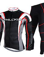 Ensemble de Vêtements/Tenus(Noir) deSport de détente / Cyclisme/Vélo / Moto / Triathlon / Course-Etanche / Garder au chaud / Bandes