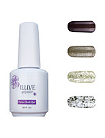 ILuve Gel Nail Polish Set - Pack Of 4 - Long Lasting 3 Weeks Soak Off UV Led Gel Varnish – For Nail Art #4024