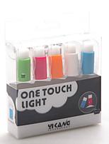 5 peças lâmpada pacote de novidade press-botão com ventosa levou partido iluminação da decoração do casamento