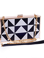 Women PU Baguette Clutch / Evening Bag / Wallet / Key Holder / Coin Purse-Black