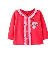 Veste & Manteau Fille de Printemps / Automne Coton Rose / Rouge