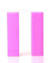 2pcs/lot colorful Nail Art sanding Buffing Block Nail File