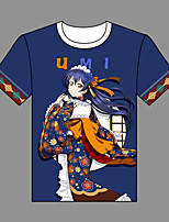 Inspired by Love Live Umi Sonoda Cotton T-shirt