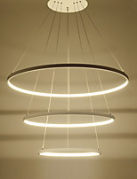 Modern Design/90W LED Pendant Light Three Rings /Fit for Showroom,Living Room, Dining Room,Study Room/Office, Game Room