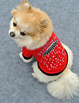 Cute Little Umbrella Pattern Pet T-Shirt