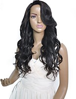 Hot Selling 180 density Brazilian Virgin Hair Lace Front Wig For Black Women
