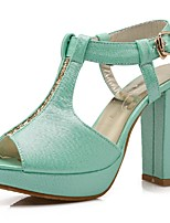 Women's Shoes Chunky Heel Heels / Peep Toe / Platform Sandals Office & Career / Party & Evening / Dress