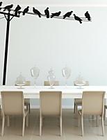 Fashion / Paesaggio / Forma / Astratto / Fantasia Adesivi murali Adesivi aereo da parete,PVC 121*155cm