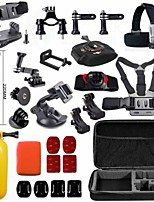 GoPro accessories 33 in 1 Shockproof Bag Phone Holder J-Hook Mount for Go pro Hero 4 3+ 2 1 xiaomi yi sj4000 camera